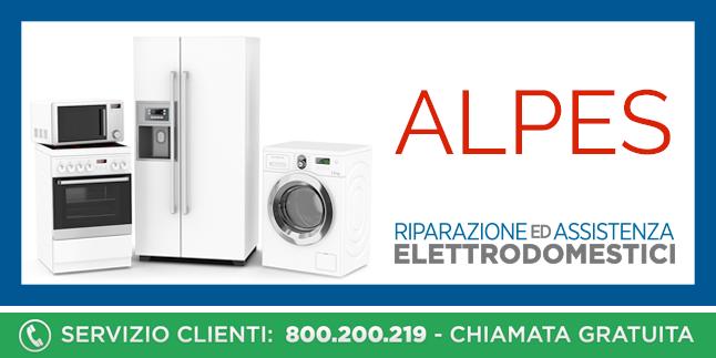 Assistenza e Riparazioni Rapide e Veloci Elettrodomestici Alpes a Napoli, Caserta e Pozzuoli