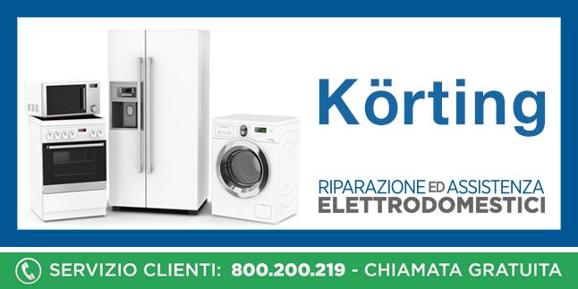 Assistenza e Riparazioni Rapide e Veloci Elettrodomestici Korting a Napoli, Caserta e Pozzuoli