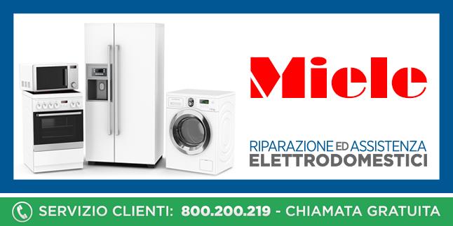 Assistenza e Riparazioni Rapide e Veloci Elettrodomestici Miele a Napoli, Caserta e Pozzuoli