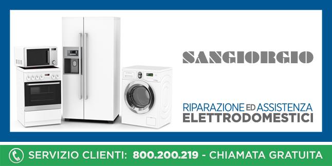 Assistenza e Riparazioni Rapide e Veloci Elettrodomestici Sangiorgio a Napoli, Caserta e Pozzuoli