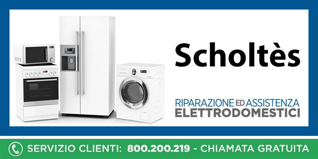 Assistenza e Riparazioni Rapide e Veloci Elettrodomestici Scholtes a Napoli, Caserta e Pozzuoli