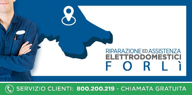 Assistenza e Riparazioni Rapide e Veloci Elettrodomestici di tutte le marche a Forlì