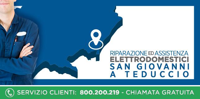 Assistenza e Riparazioni Rapide e Veloci Elettrodomestici di tutte le marche a San Giovanni A Teduccio - Napoli