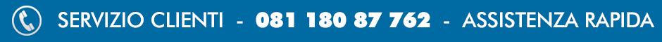 Servizio Clienti - 081 180 87 762 - Chiamata Gratuita